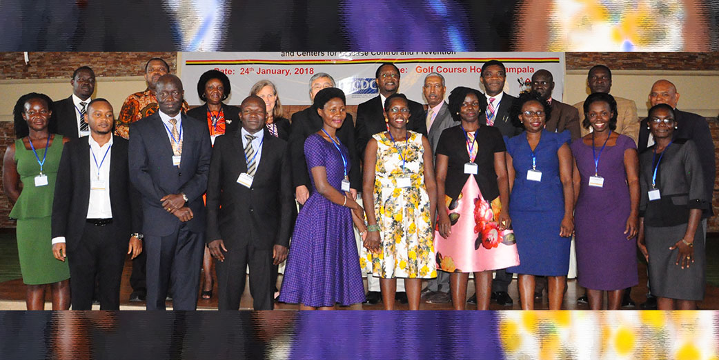 The Uganda Public Health Fellowship Program holds its 2nd Graduation of Fellows