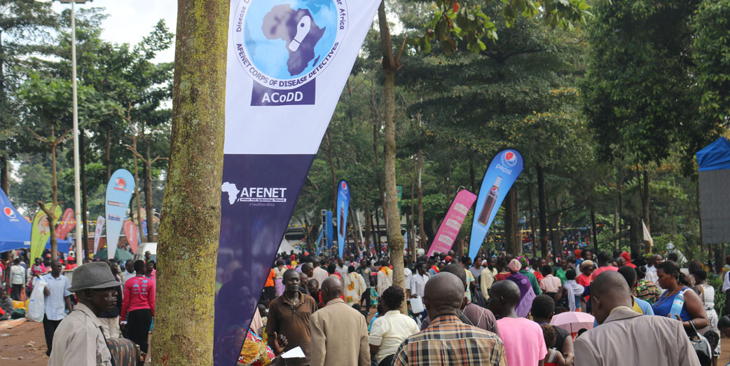 AFENET surveillance teams participated in screening pilgrims at Mass gathering, Namugongo, Uganda