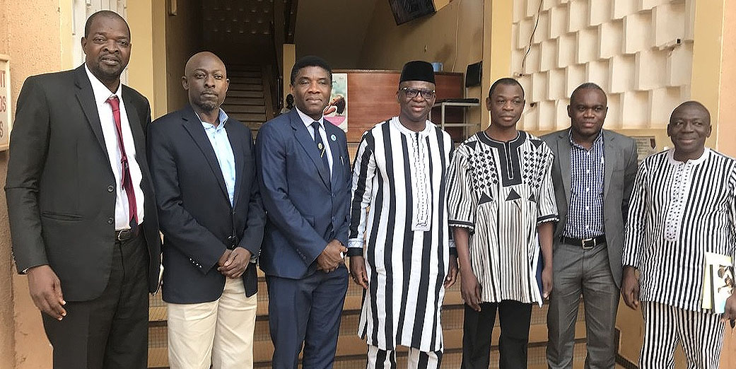 AFENET Directors Meet with Outgoing and Incoming Ministers of Health, in Burkina Faso