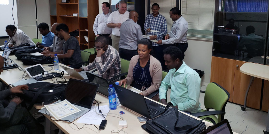 Training on Virtual Emergency Operating System in the Horn