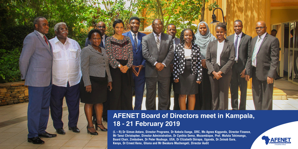 AFENET Board of Directors meet in Kampala