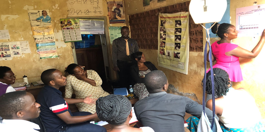 DIT training and field deployment for Mubende region, Uganda