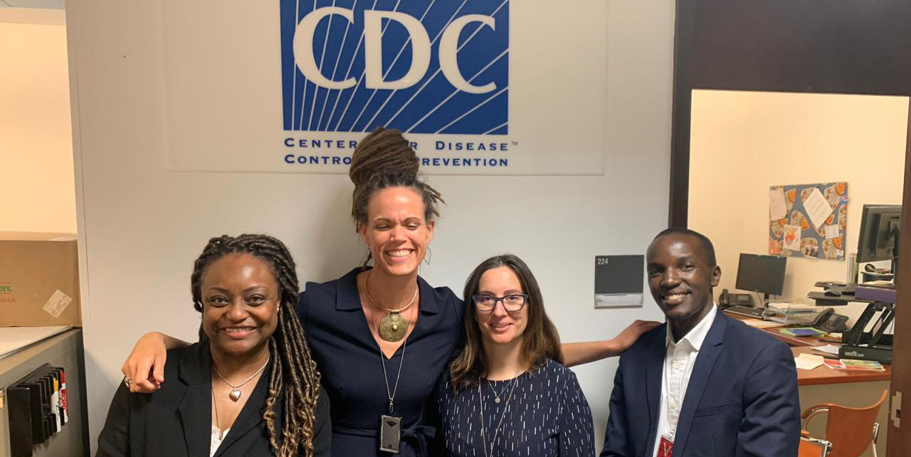 AFENET Lab Team Visits Angola CDC Director
