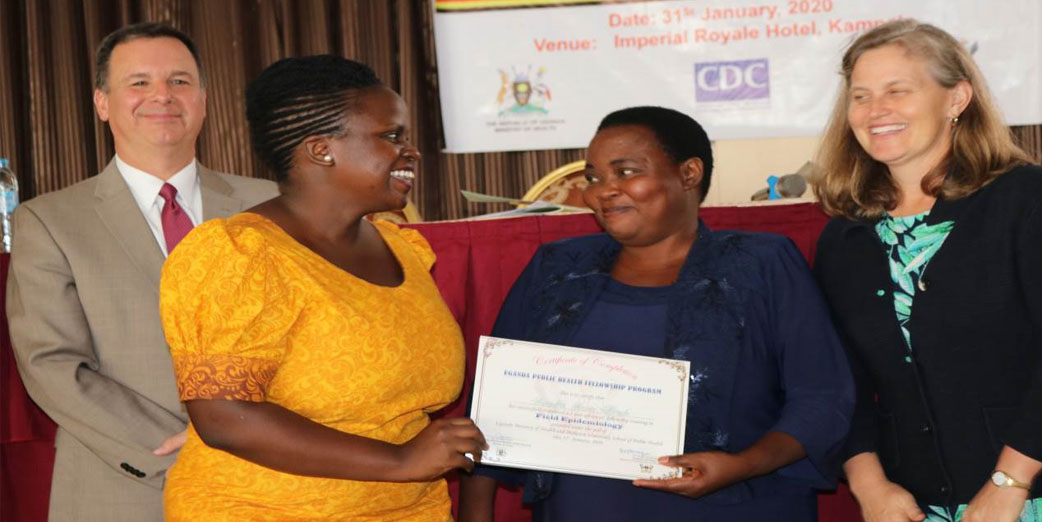 Cohort 2018 Uganda Public Health Fellowship Program Graduation Ceremony