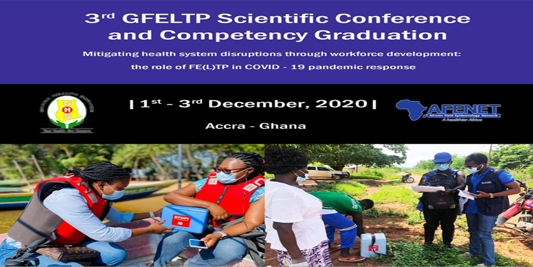3rd Ghana FELTP Scientific Conference and Competency graduation