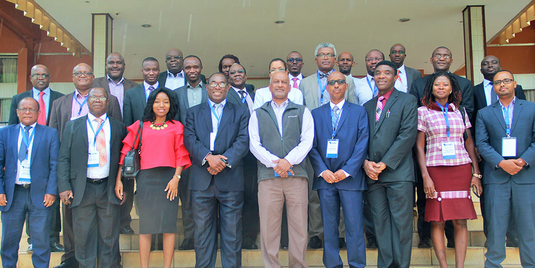 Program Directors and Board of Directors at the AFENET Annual General Meeting 10 November 2017 at Kampala Serena, Hotel, Uganda
