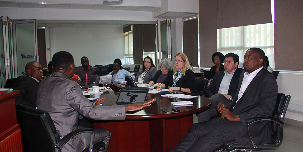 CDC Global Immunization Division (GID) team visit AFENET Secretariat