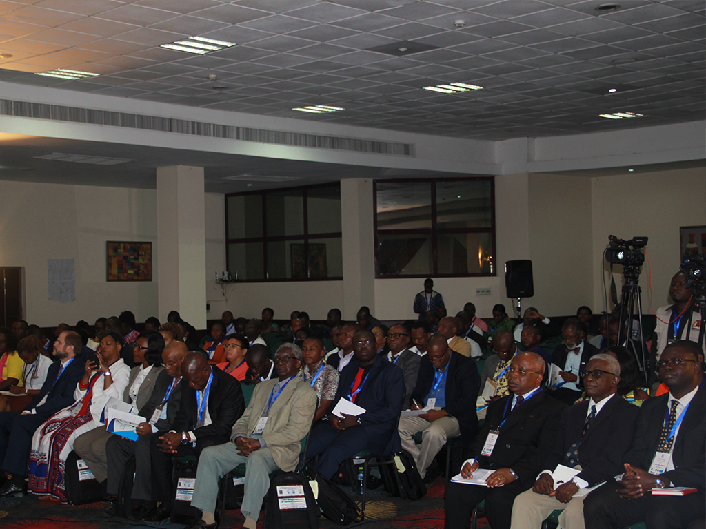Participants at the Ghana FELTP Scientific Conference Opening ceremony 19 September 2017
