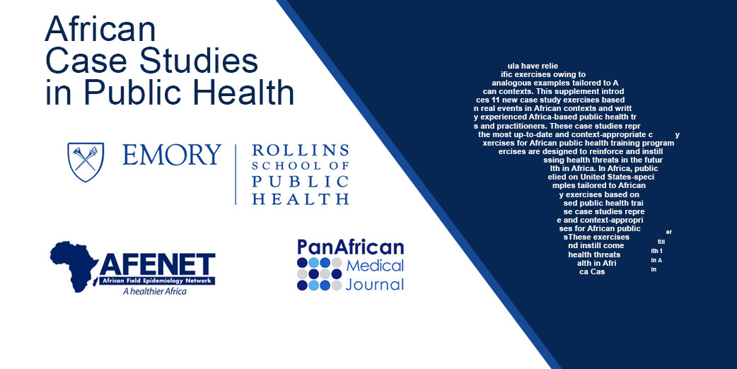 AFENET Publishes African Case Studies in Public Heath
