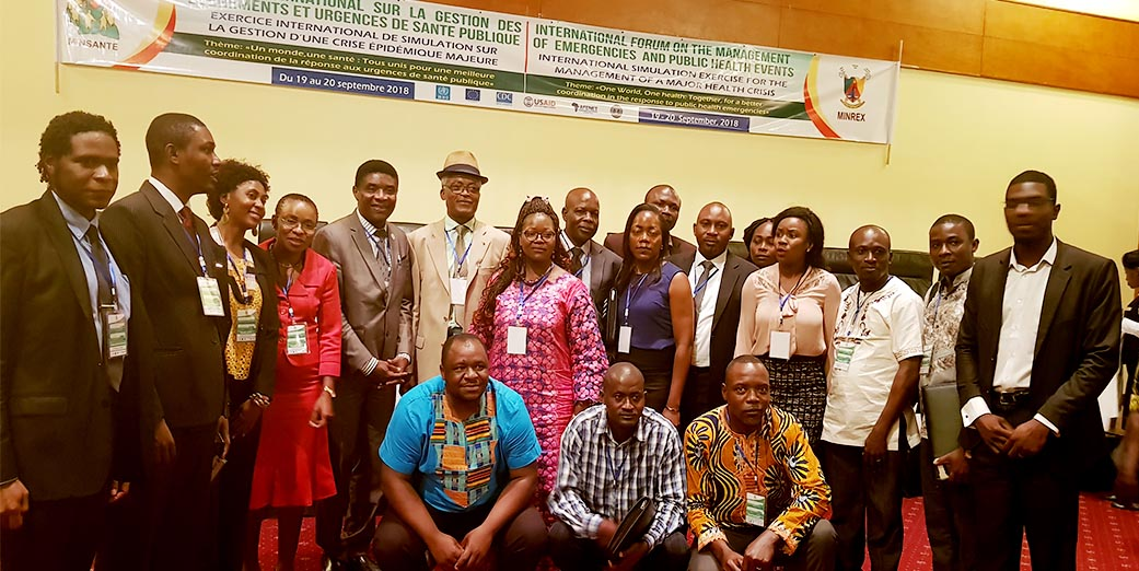 Cameroun International forum on Management of Emergencies and Public Health Events Seminar