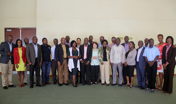 Participants at the AFENET Regional Accreditation Workshop, 17 - 22 July 2017 in Kampala, Uganda