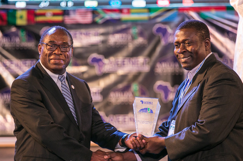 AFENET Chairman Board of Directors - Prof Tshimanga