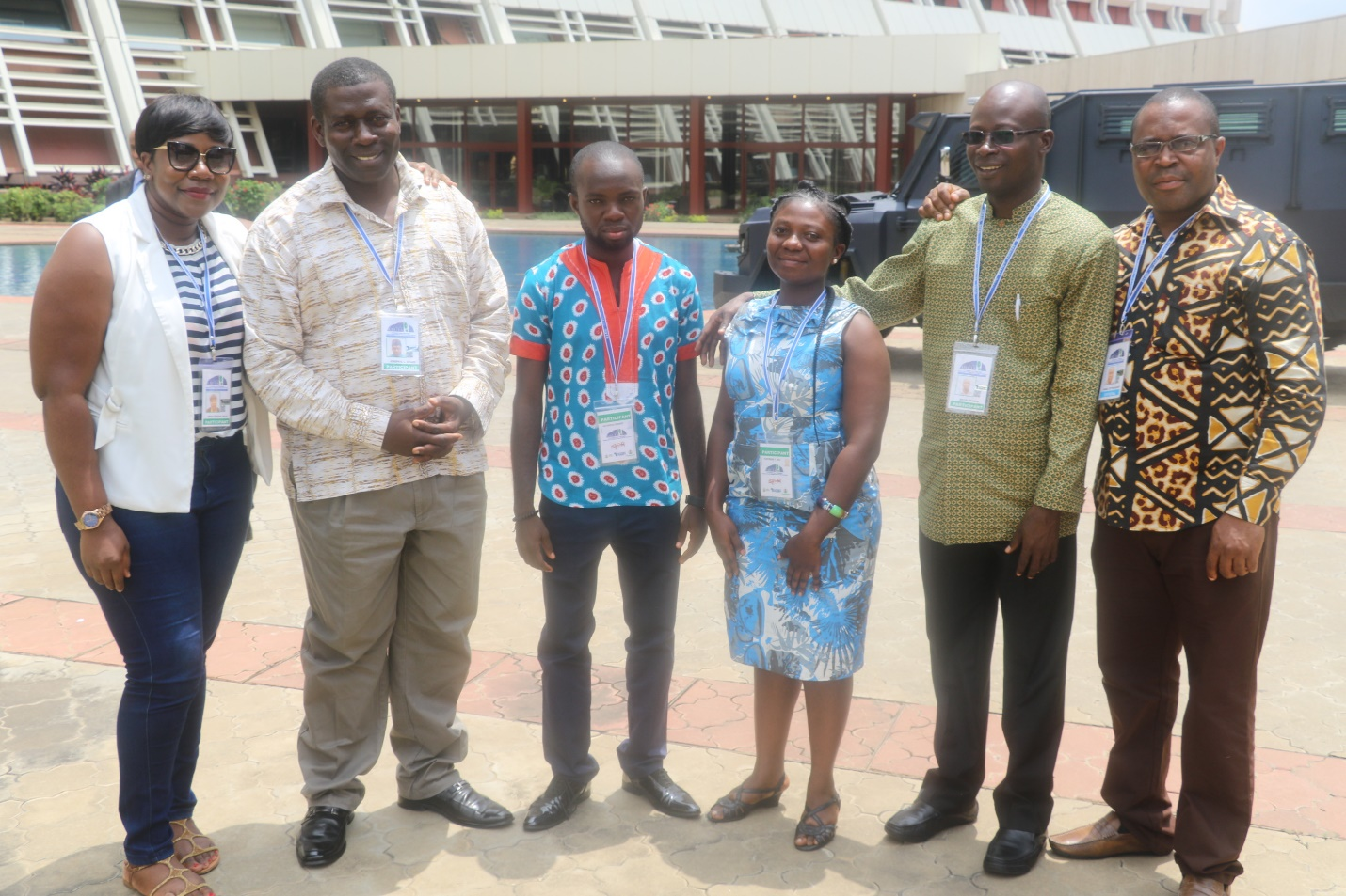 Oral presenters at the 6th AFENET Scientific Conference in Abuja - Nigeria