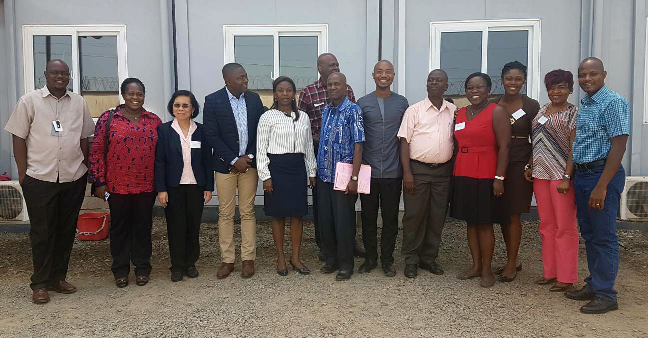 Institutions represented were: MOH, CDC Headquarters, CDC Liberia, WHO, AFENET and University of Liberia